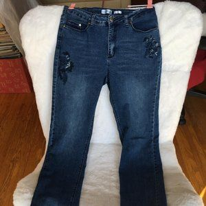 """North Reflect Embroidered """"Town"""" Jeans (see descr)"""